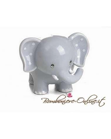 """Elefantino celeste grande collezione """"Lillo e Lilla"""""""