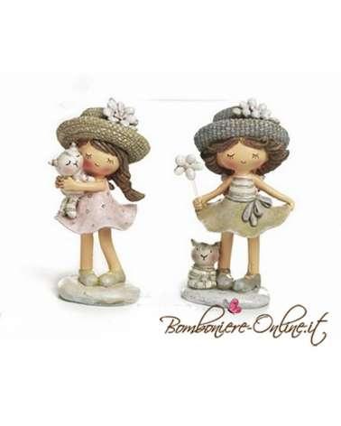 """Bimba con cappello collezione """"Les Chapeaux"""""""