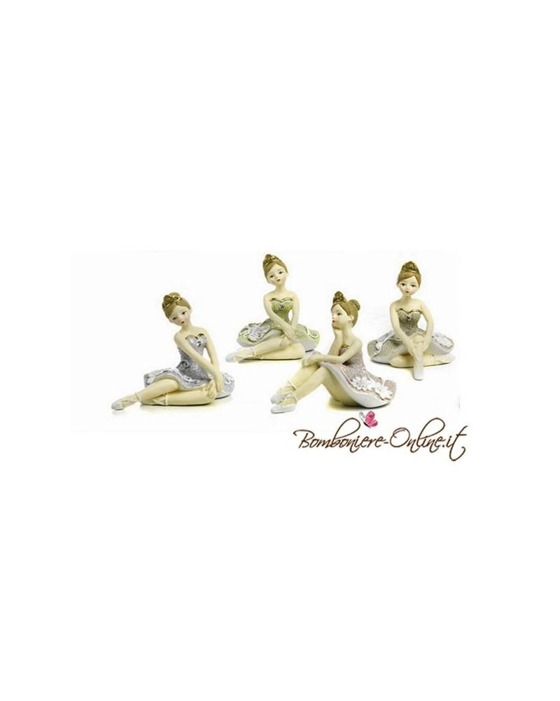 """Ballerina seduta  collezione """" Danseur """". Prima Comunione bambina"""