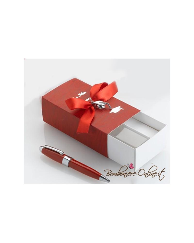Mini penna rossa Laurea