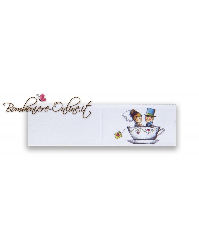 Biglietti bomboniera matrimonio tazza