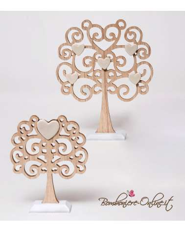 "Albero medio linea ""Wood for love"""