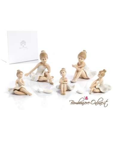 Ballerina seduta porcellana 1