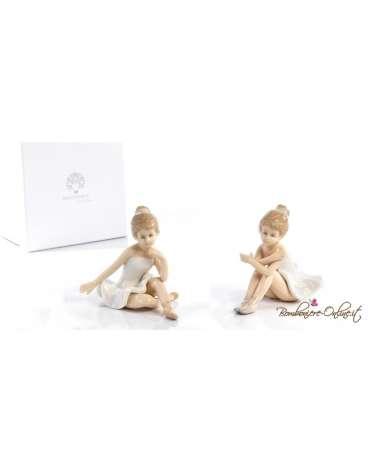 Ballerina seduta porcellana 2