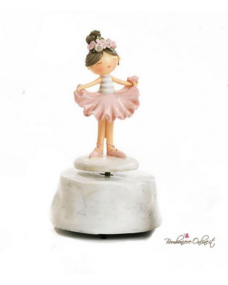 "Bomboniera Carillon Ballerina spiritosa ""Tender Dancers"""