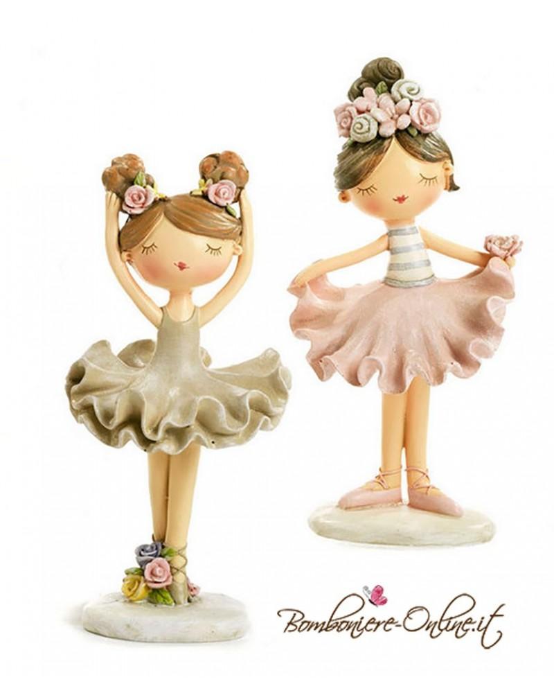 """Bomboniera Ballerina spiritosa alta """"Tender Dancers"""""""