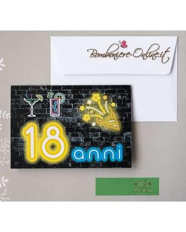 Invito 18 anni Compleanno Party
