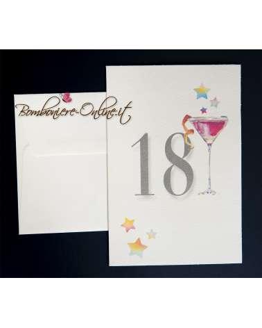 Invito 18 Anni cocktail