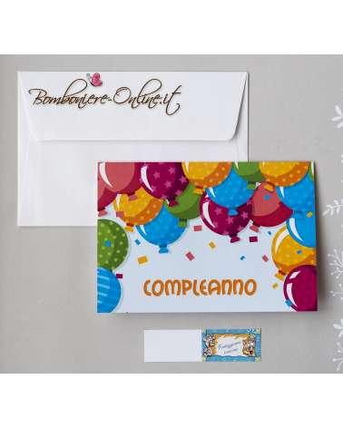 Invito Compleanno Palloncini