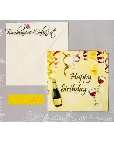 Invito Compleanno brindisi
