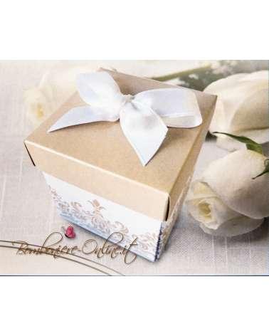 Partecipazione nozze originale in scatola