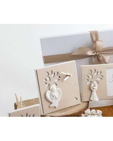 Bomboniera Matrimonio: Orologio albero con astuccio coordinato