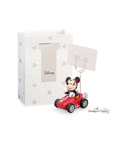 Bomboniera Mickey Mouse su auto con clip
