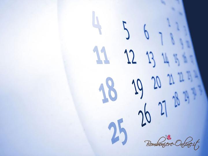 Calendario data