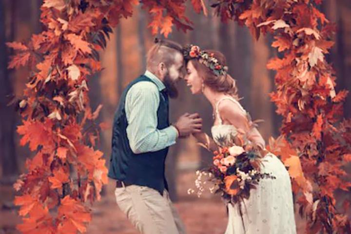 Sposi in autunno