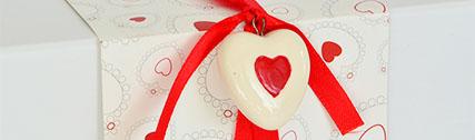 Bomboniere Matrimonio cuore rosso