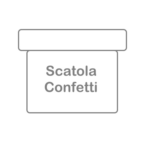 Scatola confetti (conf. da 2 PZ.)